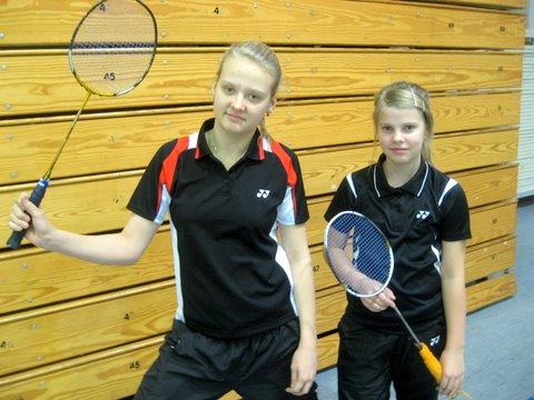 U13 vanuseklassi mängijatele Kristinile ja Helinale olid aastalõpu turniirid edukad ka U15 vanuseklassis.