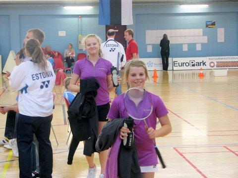 Kristin ja Helina - võidukalt lahkuti väljakult ka Göteborgi turniiril.
